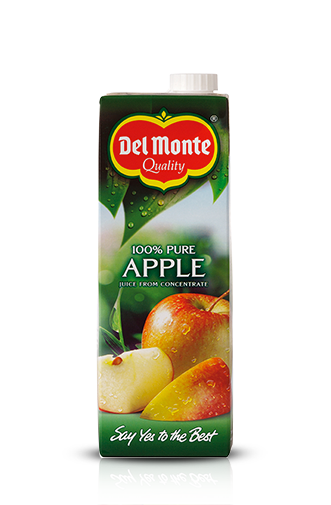 Del Monte Europe Pure Apple juice from concentrate