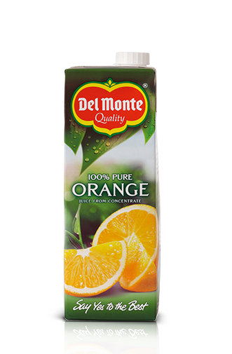 Del Monte Europe Pure Orange Juice from concentrate